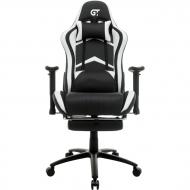 Геймерское кресло GT Racer X-2534-F Black/White