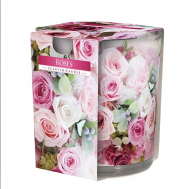 Свеча ароматическая Flora Bispol Розы (27278)