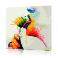 Картина по номерам ArtSale Чупа-чупс PBN0013 30х30 см