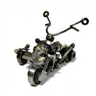 Мотоцикл металлический 11х16х17 см МС-011