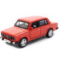 Машинка іграшкова Автопром ВАЗ-2106 метал/світло/звук Червоний (7642)