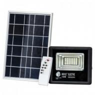 Прожектор світлодіодний з сонячною панеллю Horoz Electric TIGER-10 10W 6400K