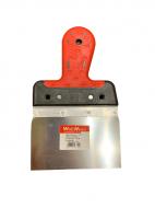 Шпатель алюмінієвий WoffMann гумова ручка 150/90 мм (і2023)