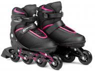 Роликовые коньки Hop-Sport HS-903 3в1 Motion S Черно-розовый