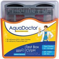 Тестер у таблетках для басейну pH і CL AquaDoctor Box 20 тестів (23544)