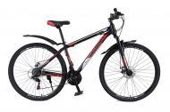 """Велосипед Champion Spark 2021 29"""" рама 43 см Чорний/Червоний/Срібний"""