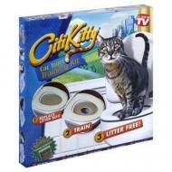 Система привчання котів до унітазу Citi Kitty Cat Toilet Training (012a9cda)
