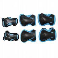 Комплект захисний SportVida р. L Blue/Black (SV-KY0005-L)