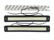 Комплект LED фар ДГЗ гнучкий корпус Chip 12V KLNT-DRL-COB-104