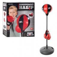 Боксерський набір дитячий Profi MS 0332 на стійці рукавички 130 см (39397075)