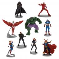 Набор фигурок Disney Мстители Marvel Avengers 9 шт