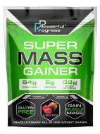 Гейнер високобілковий Powerful Progress Super Mass Gainer 1 кг Лісові ягоди (08198-07)