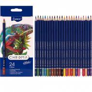 Олівці кольорові Marco Chroma 24 кольори (8010-24CB)