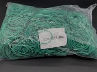 Резинки для денег 50х1,5х1,5 мм 1983 шт Зеленый (RZ-019)