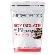 Протеїн соєвий Nosorog Nutrition Soy Isolate Protein 1 кг М'ятно-шоколадний (10013-02)