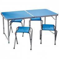 Туристический стол со стульями + Solar power bank 30000 mAh