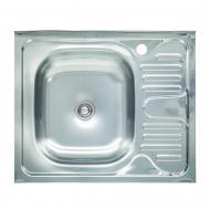 Мойка кухонная Platinum 6050 L 0,4/120 мм из нержавеющей стали
