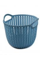 Корзина для хранения Yimei 32х30,4х26,5 см Голубой (K10-111714)