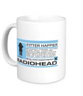 Кружка Radiohead 2 Белый