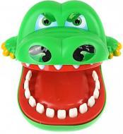 Игра детская настольная Qunxing Toys Крокодил-дантист Зелёный