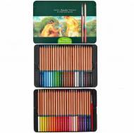 Набір акварельних олівців Marco Renoir Fine-Art 48 кольорів у металевому пеналі (Fine-Art-Aqua-48TN)