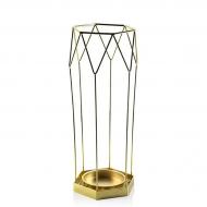 Подставка для зонта металлическая Flora 45 см Золотой (30247)