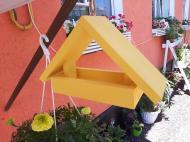 Годівниця для птахів підвісна House_for_birds Веселка жовта