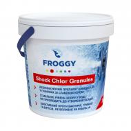 Дезінфектант на основі хлору Froggy Shock Chlor Granules швидкої дії в гранулах 1 кг (G0140-06)