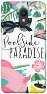 TPU чохол itsPrint Poolside paradise для Meizu M6
