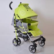 Дитяча прогулянкова коляска трость Sigma SunnyLove-SH629APB Салатовий