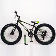 Гірський велосипед S800 Hammer Extrime Фет Байк алюмінієва рама 15  Зелений