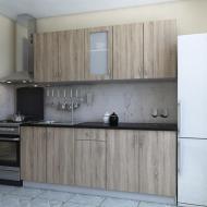 Кухня Модест со столещницей 2 м Дуб сонома (00009)