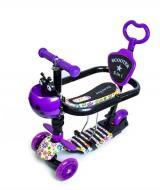 Самокат Scale Sports i-Trike 5в1 з батьківською ручкою та сидінням (784774339)