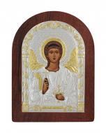 Икона Ангел-Хранитель Agio Silver 20x15 см серебро 925° с позолотой Коричневый