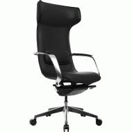 Офісне крісло GT Racer X-003F Leather Black