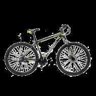 """Велосипед Cross Leader 2021 29"""" рама 53 см Черный/Желтый"""