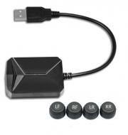 Система контролю тиску і температури в шинах TPMS з зовнішніми датчиками для магнітол на Android (921178026)