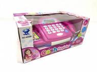 Касовий апарат дитячий Limo Toy 66050 з мікрофоном Рожевий (37680667)