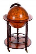 Глобус бар напольный Гранд Презент 45043R Древняя карта 45 см Коричневый (11810)