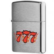 Запальничка Zippo Three Seven Сірий (24491)