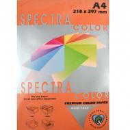 Бумага высокой плотности Speсtra Color А4 250 листов 160 г/м2 Оранжевый (14-4-255)