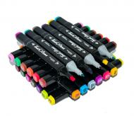 Скетч-маркери для малювання Touch 48 PCS двосторонні у чорному корпусі (1007910-Other-1)
