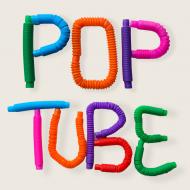 Іграшка-антистрес Pop Tube 6 шт.