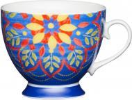 Чашка Kitchen Craft Марокканский Узор 400 мл Синий (775337)