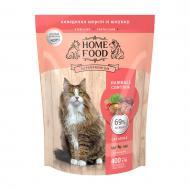 Корм сухий HOME FOOD Hairball Control Виведення шерсті зі шлунку для дорослих котів 400 г