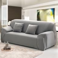 Чохол на двомісний диван HomyTex універсальний Біфлекс Сірий
