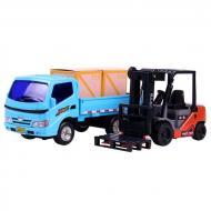 Набір іграшкових машинок Jia Yu Toy Вантажівка і навантажувач (58759)