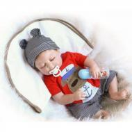 Лялька колекційна Реборн хлопчик Кирюша 57 см