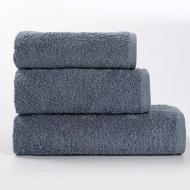 Набор махровых полотенец GM Textile 3 шт Серый