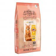Корм сухий HOME FOOD Індичка та креветка для дорослих котів великих порід 10 кг